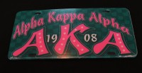 Alpha Kappa Alpha - Printed Founder License Plates