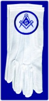 Masonic/OES Gloves