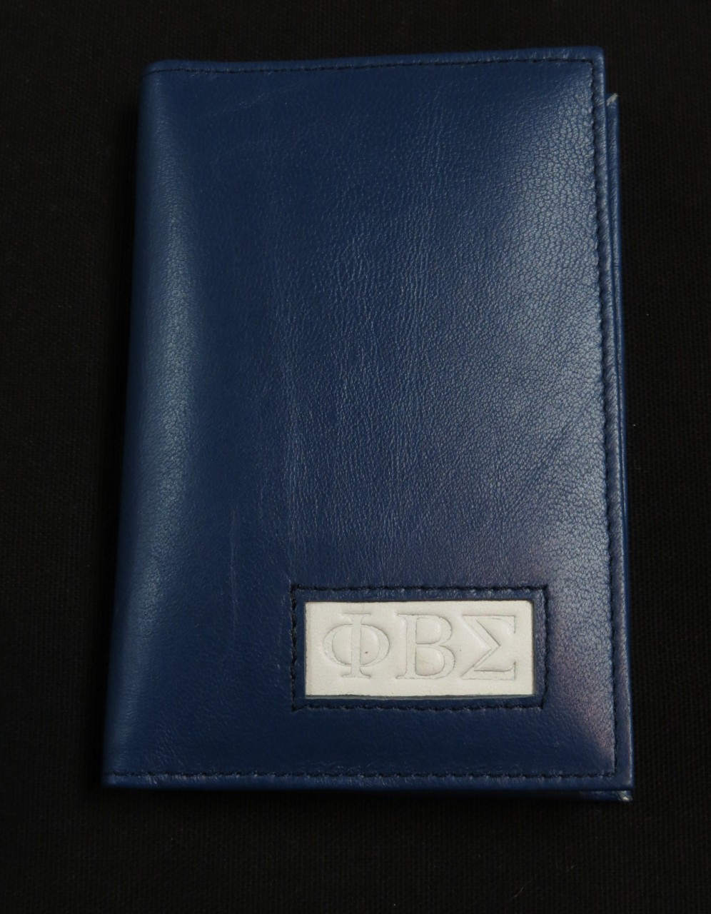 Leather Phi Beta Sigma Passport Wallets The Greek Shop