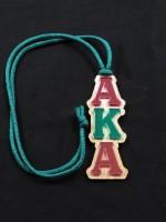 Alpha Kappa Alpha - Mirror Letter Tiki
