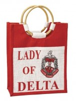 Delta Mini Pocket Jute Bag