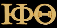 3 Greek Letter Lapel Pin - Iota Phi Theta (2 Colors)