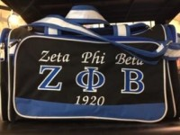 Zeta Phi Beta Duffle Bag