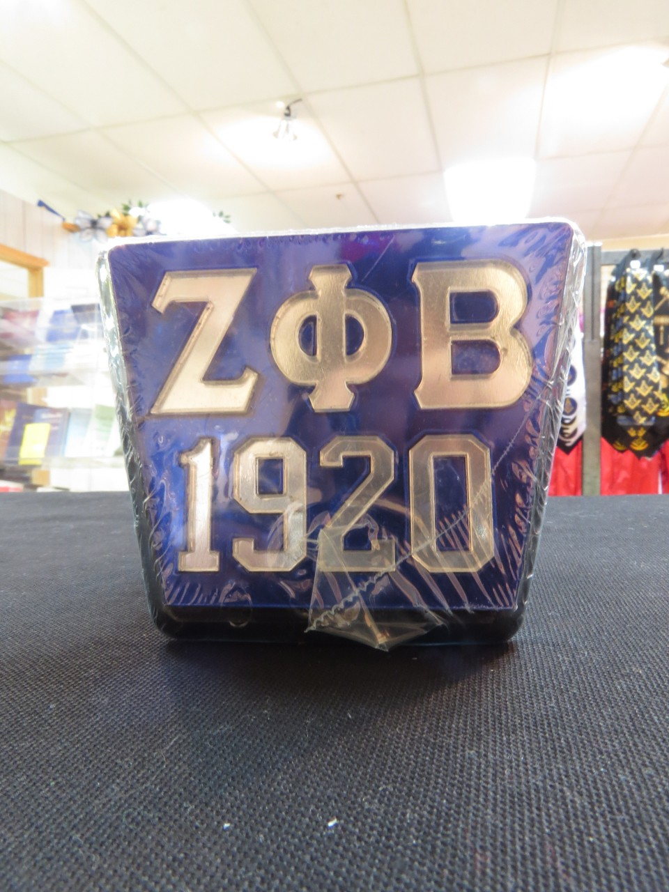 Zeta Phi Beta Square Hitch Cover 2 Styles The Greek Shop