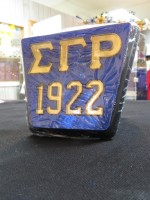 Sigma Gamma Rho Square Hitch Cover