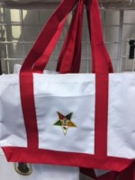 OES White/Red Bag