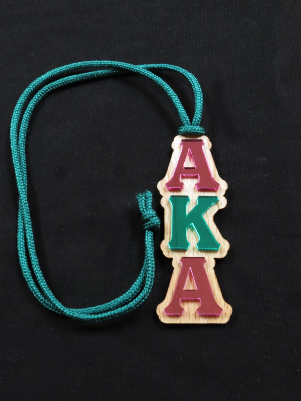 Alpha Kappa Alpha Mirror Letter Tiki The Greek Shop