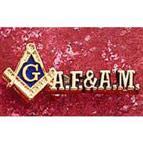 A.F&A.M. Lapel Pin
