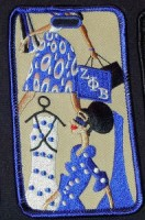 Diva Luggage Tags - Zeta Phi Beta
