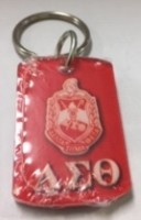 Delta Tag Key Chain