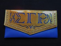 Large Clutch Bag w/ Chain - Sigma Gamma Rho