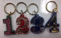 Sorority Line Number Key Chains (All Groups) (#1-99)