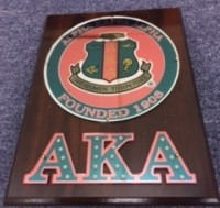AKA Wall/Stand Shield Plaque