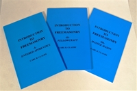 Introduction to Freemasonry - 3 vol set