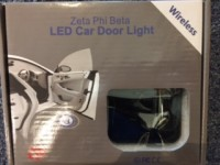 SORORITY CAR DOOR LIGHT