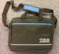 Zeta Lap Top Bag/ Front & Back Pocket