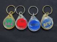 Sorority Domed Key Chains