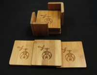 Shrine Coasters