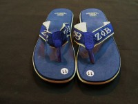 Flip Flops w/ Tan Accent- Zeta Phi Beta