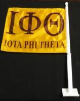 Iota Phi Theta Car Flag