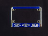 Zeta Phi Beta Motorcycle Frame
