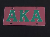Alpha Kappa Alpha - Mirror Plates