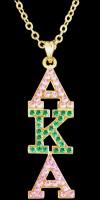 Swarovski Crystal Pendant w/Chain (2 Styles)
