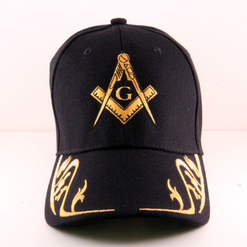 Masonic Hat W Gold Design On The Brim The Greek Shop