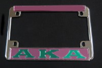 Alpha Kappa Alpha Motorcycle Frame