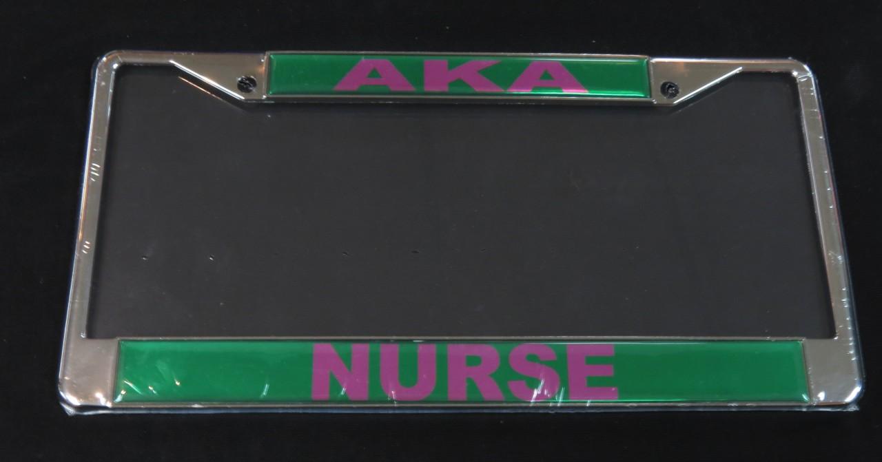 Alpha Kappa Alpha - Nurse Frame - The Greek Shop
