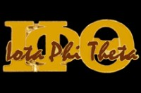 Greek Letters w/ Full Name Lapel Pin - Iota Phi Theta