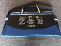 Zeta Phi Beta Travel Bag
