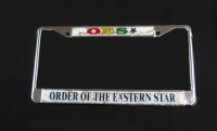 OES - Silver Domed Plate Frames