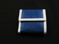 Zeta Phi Beta Alligator Print Wallet