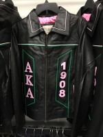 Alpha Kappa Alpha Leather Jacket