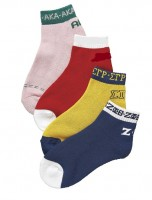 Sorority Bootie Socks