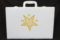 White OES Briefcase