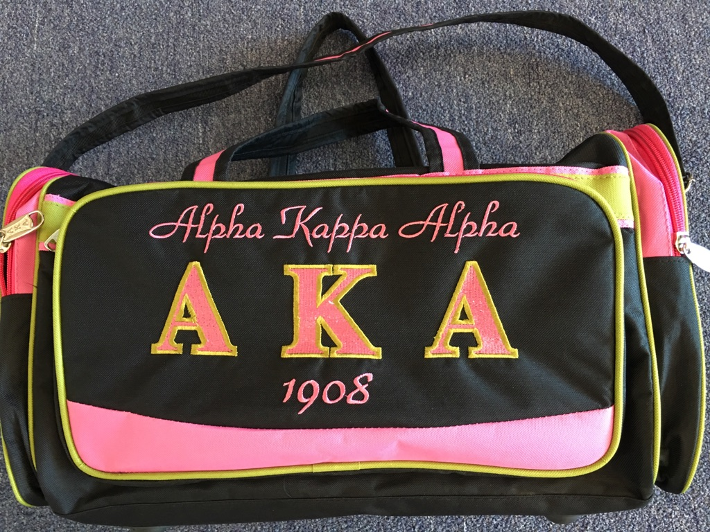 Alpha Kappa Alpha Duffle Bag The Greek Shop