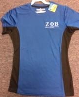 Zeta Sports Shirt - BLU X DRI Moisture Wicking