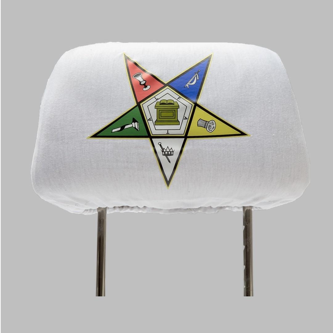 Mason Amp Oes Headrest Cover The Greek Shop