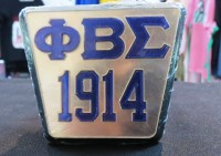 Phi Beta Sigma Square Hitch Cover