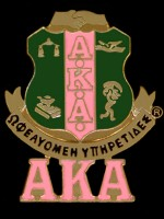 AKA Shield/Letter Pin