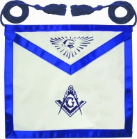 Blue Lodge Apron w/ Rope (Lamb Skin)