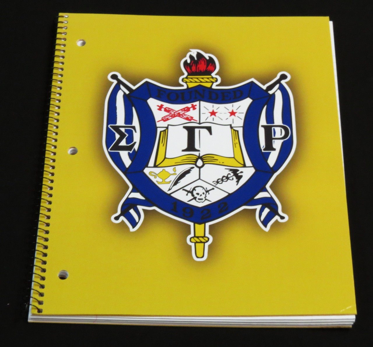 Spiral notebook sigma gamma rho the greek shop spiral notebook sigma gamma rho biocorpaavc Images
