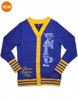 SGRHO SEQUIN PATCH CARDIGAN